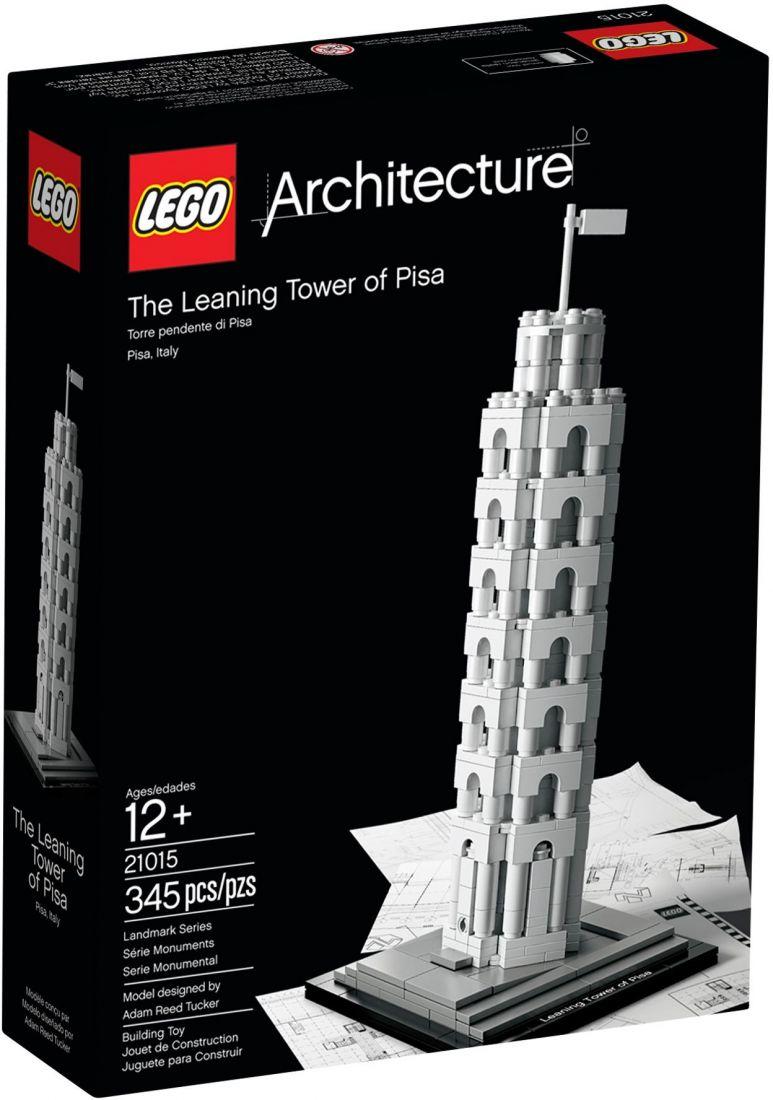 Конструктор ЛЕГО Architecture: Пизанская башня 21015