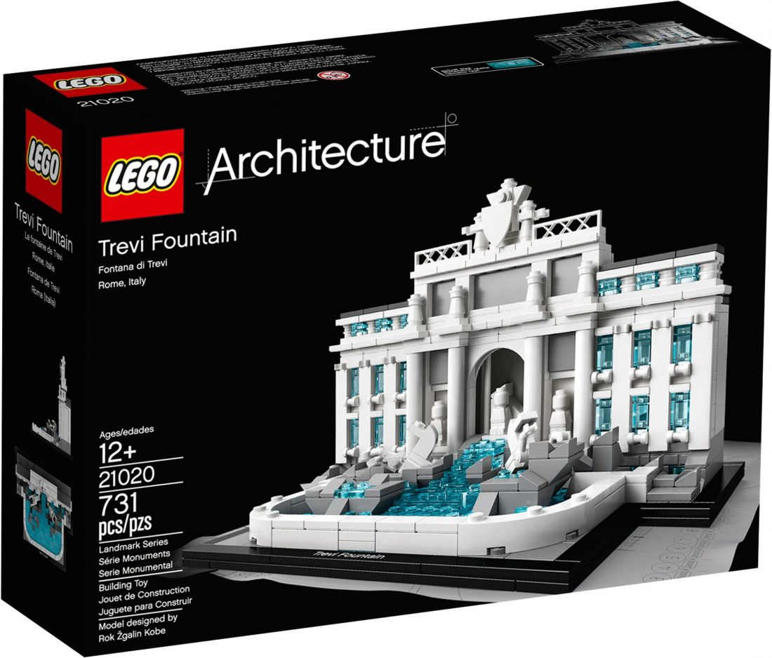 Конструктор ЛЕГО Architecture: Фонтан Треви 21020