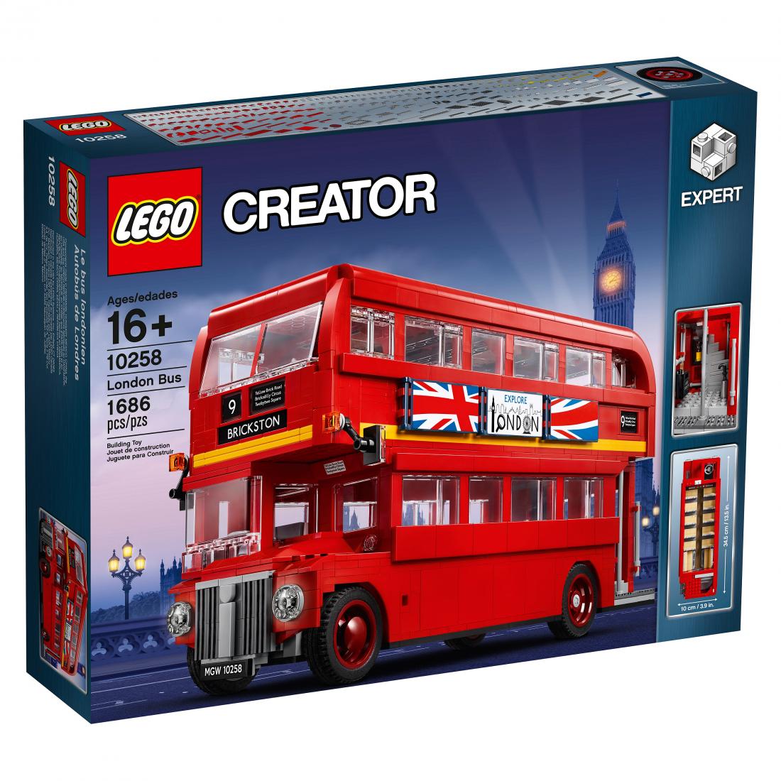 10258 Лондонский Автобус Конструктор ЛЕГО