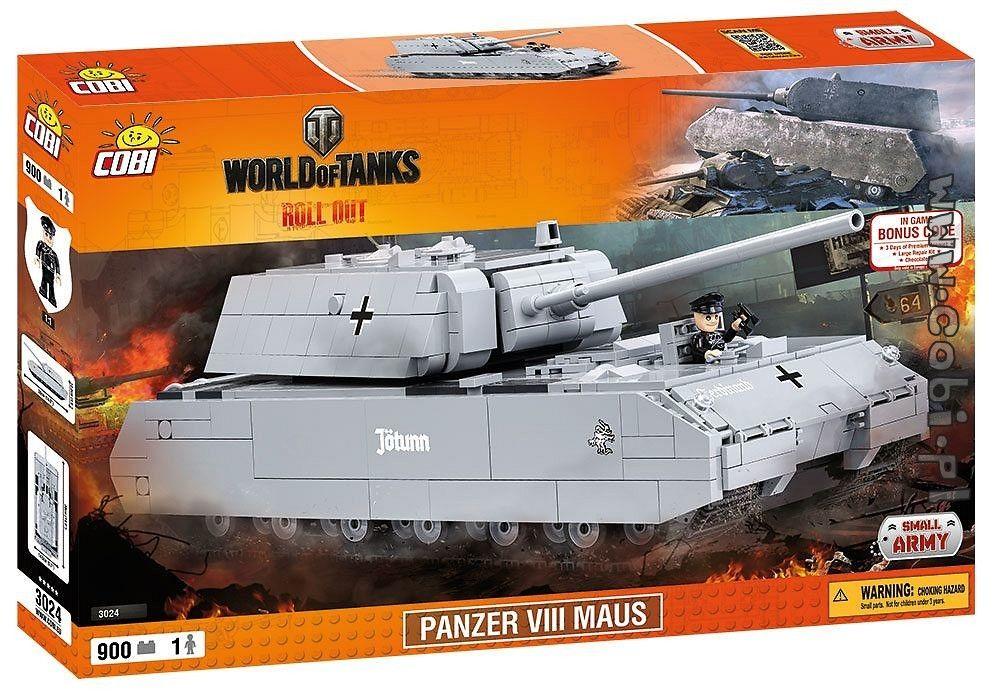 КОБИ World of Tanks - Танк Панзер VIII Маус COBI-3024