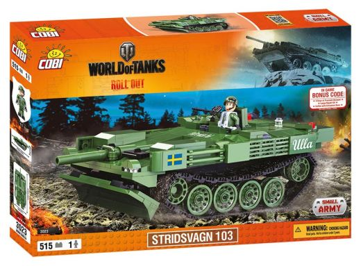 КОБИ World of Tanks - Танк Strv. 103B COBI-3023