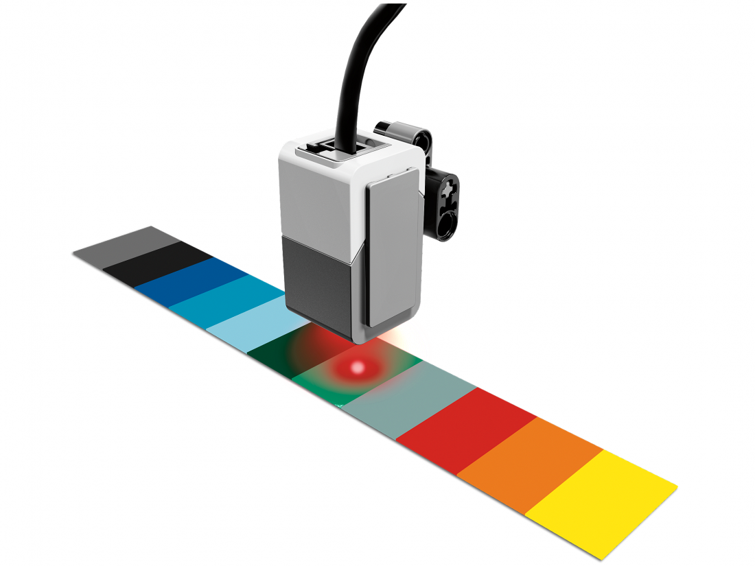 Датчик цвета и освещённости для Lego MIndstorms EV3 45506