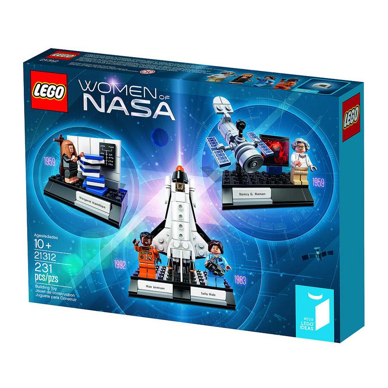 Женщины NASA космонафты. Конструктор ЛЕГО Ideas 21312