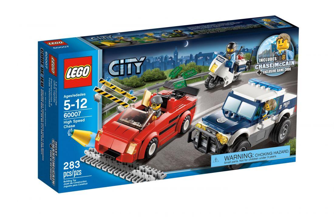 60007  Погоня за преступниками. ЛЕГО Город 60007 LEGO City