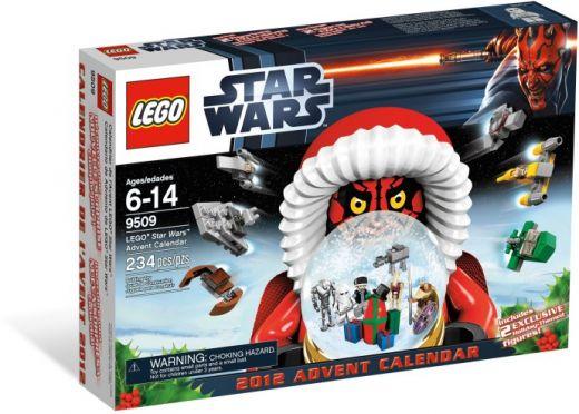 Рождественский календарь Звёздные войны 2012. Конструктор ЛЕГО 9509