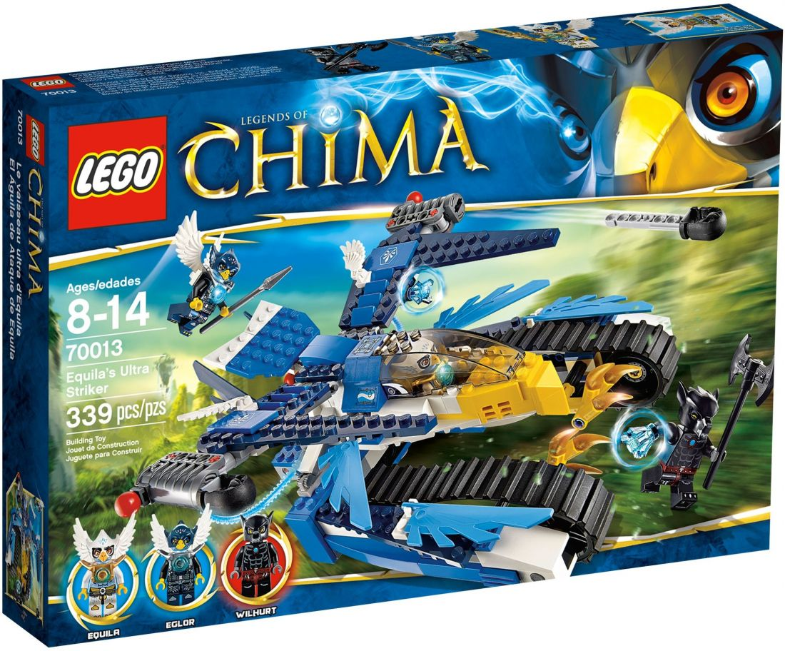 LEGO CHIMA: Гарпунёр орла Экилы 70013